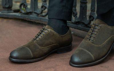 Guía de zapatos para caballero